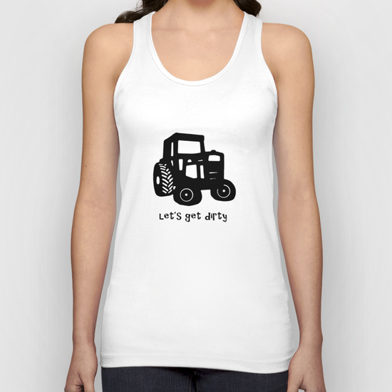Let's Get Dirty Tank Top
