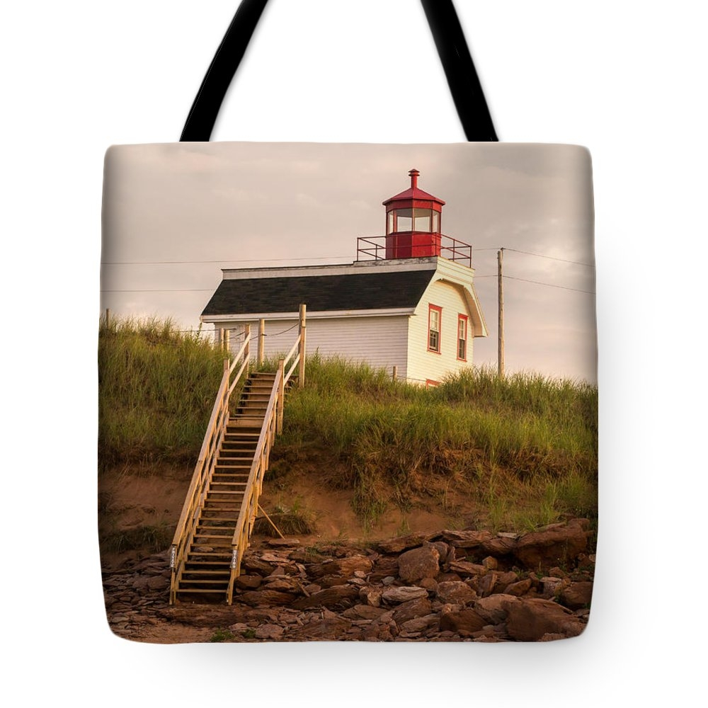 Lighthouse tote bag