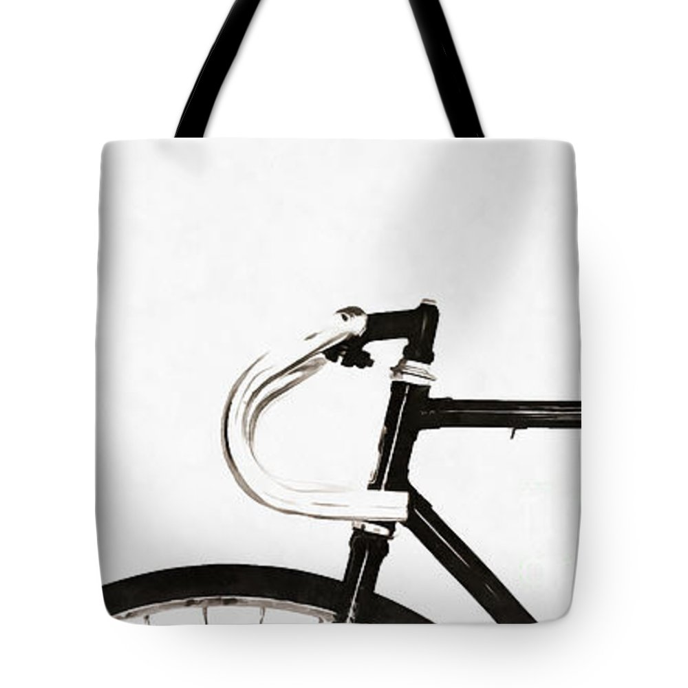 Minimalist bicycle tote bag