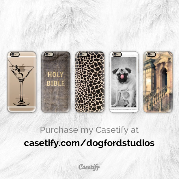 Phone cases by Dogford Studios