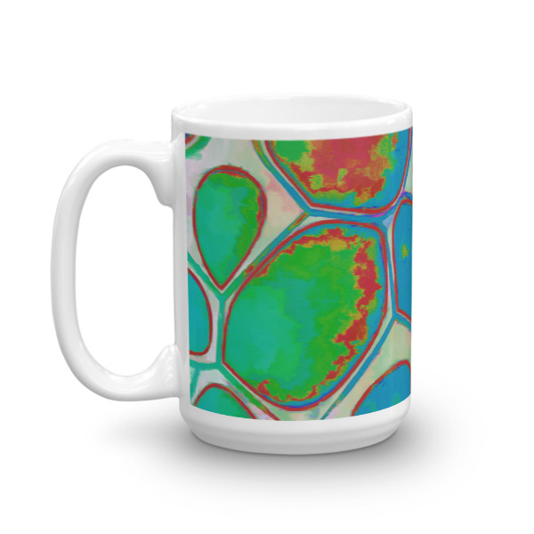 Abstract Mugs by Dogford Studio