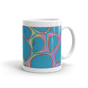 Abstract Paintings Cell Series 4 Mug