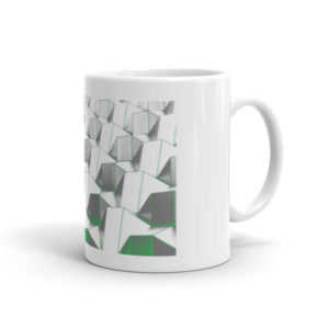 Abstract Cubes Mug