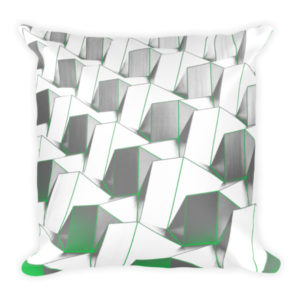 Modern Urban Abstract Pillow