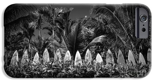 Surf Board Fence Maui Hawaii Phone Case
