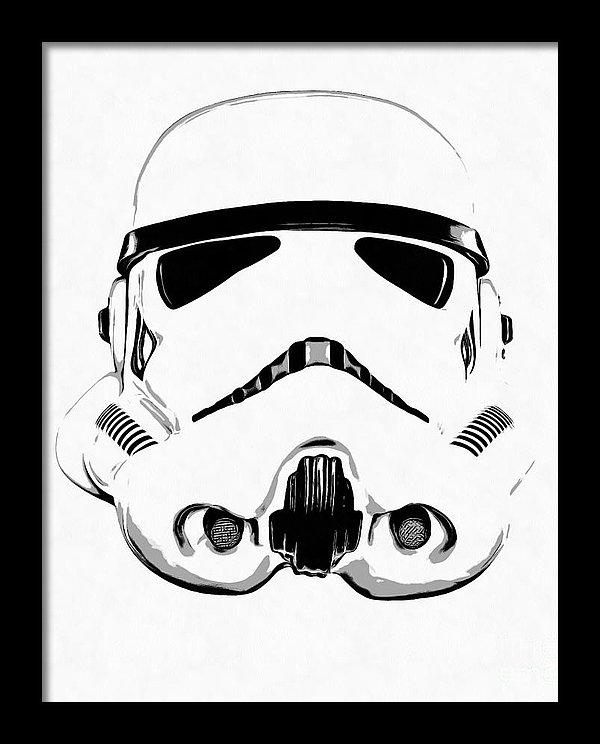 Star Wars Stormtrooper drawing
