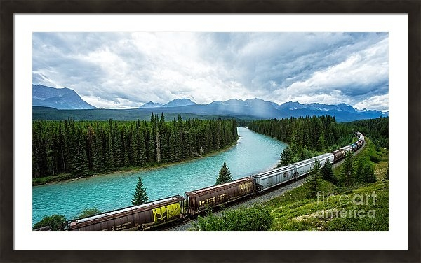 Morant's Curve Bow Valley Banff National Park Canada