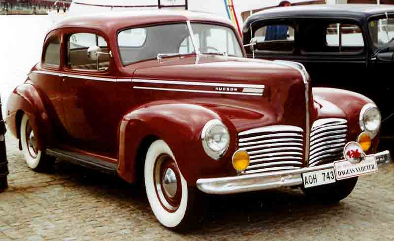 Restored 1941 Hudson Coupe