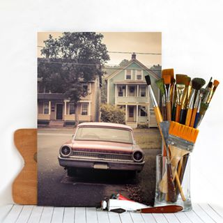 Late Model Car Metal Print
