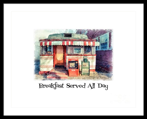 Breakfast Served All Day by Edward M. Fielding