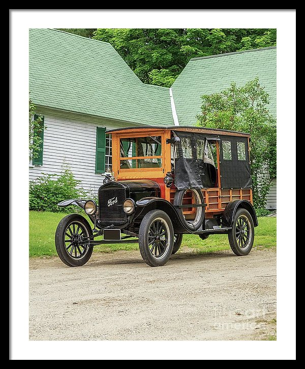 Old Ford Model T Woodie