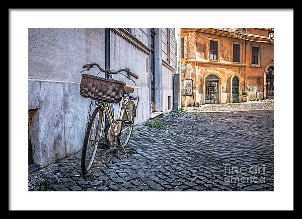 Bike in the Streets of Rome