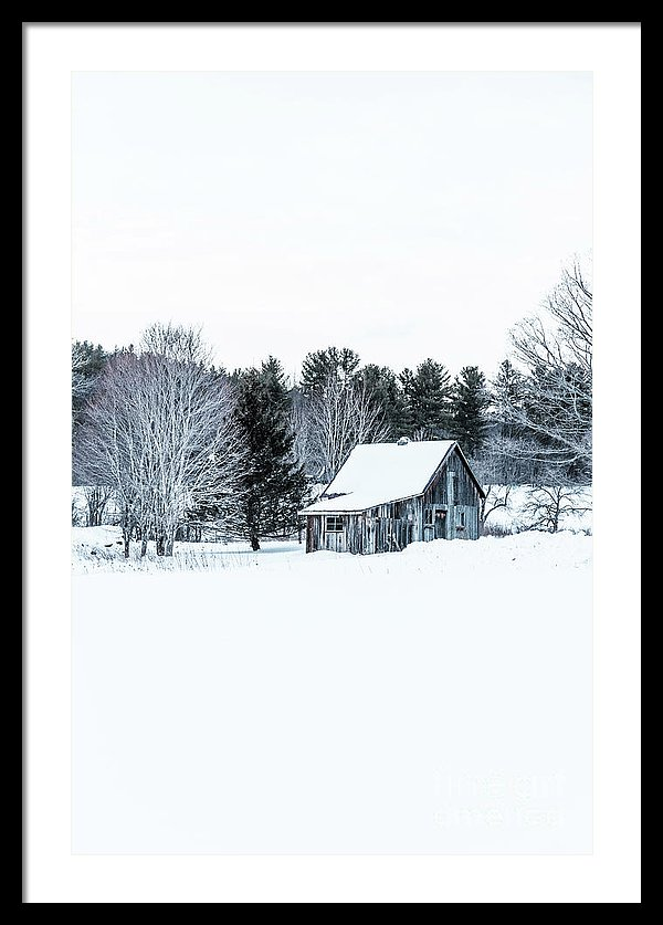 Theme: Remote Cabin in Winter