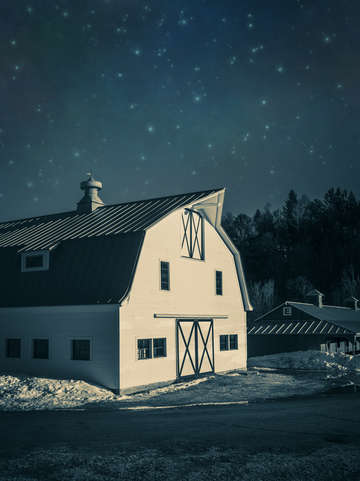 MH09 Moonlight in Vermont by Edward M. Fielding