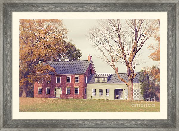 Old Farmhouse in Vermont