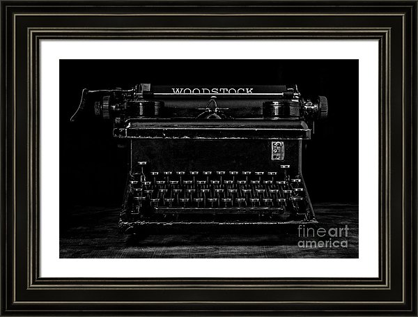 Vintage Typewriter Print for sale