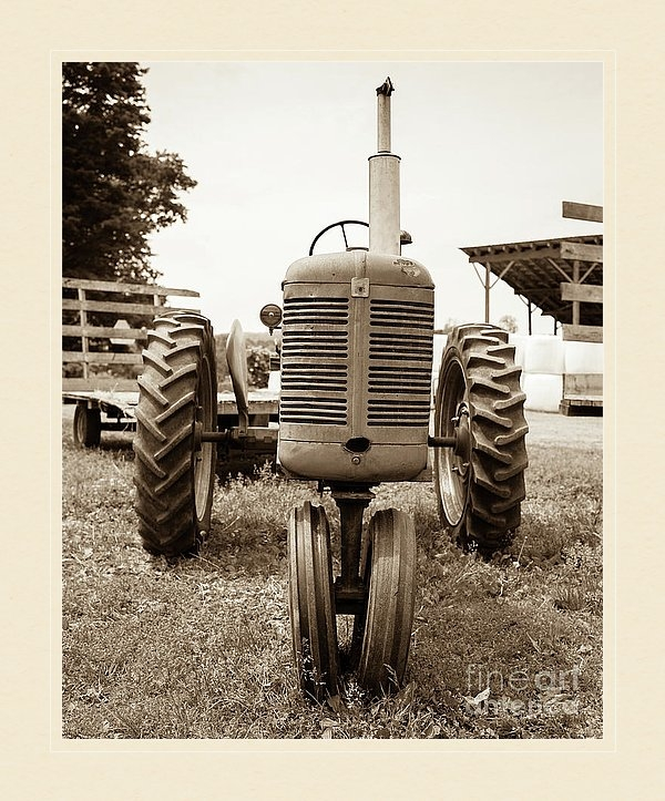 Vintage Tractor Photography for that modern farmhouse style