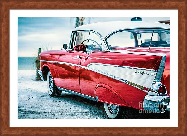 Chevy Bel Air at the Beach