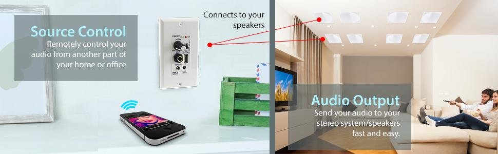 Send audio from your Bluetooth Device to your built in speakers