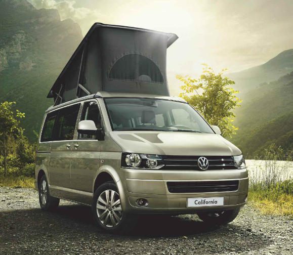 VW California - sold in Europe but not US
