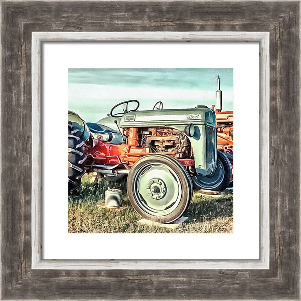 Vintage Ford Tractor by Edward M. Fielding