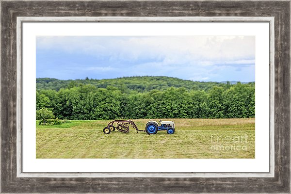 Vintage Ford Tractor Tilt Shift by Edward M. Fielding