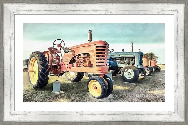 Vintage Tractors Farm to Table decor