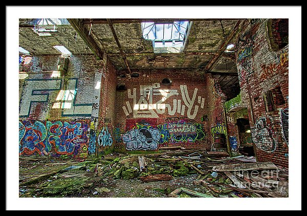 Fine art photography of an abandoned factory