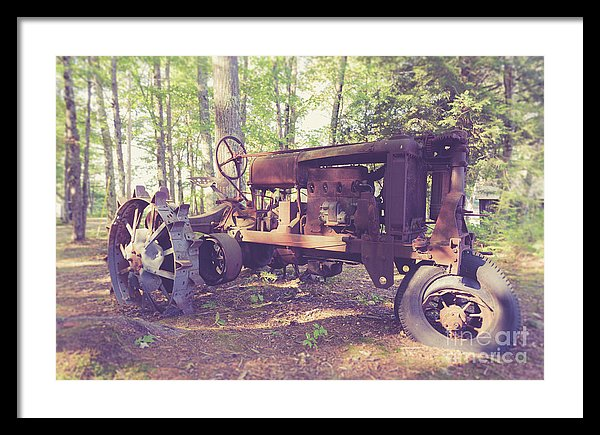Old Abandoned Tractor at Muster Field Farm