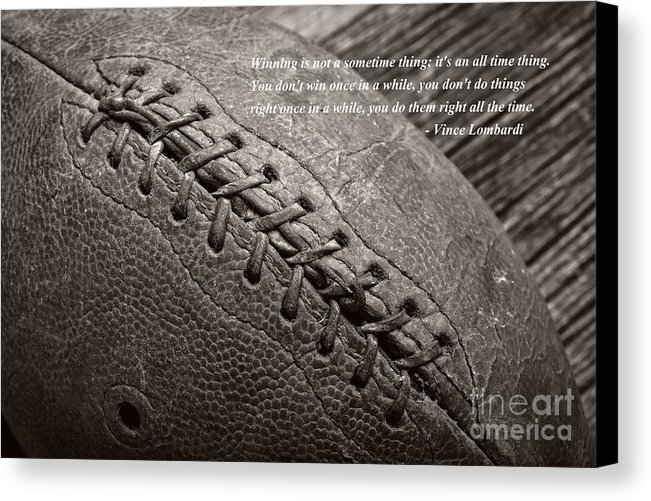 "a 12.000"" x 8.000"" print of Winning Quote From Vince Lombardi to a buyer from Green Bay, WI."