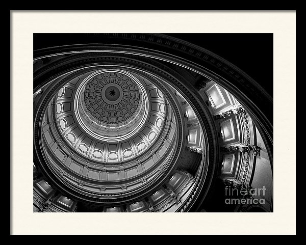 "a 20.000"" x 15.000"" print of Texas State Capital Dome Austin to a buyer from Austin, TX."