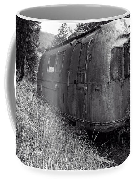 a Coffee Mug - Large (15 oz.) of Abandoned Airstream In The Jungle to a buyer from Glencoe, IL.