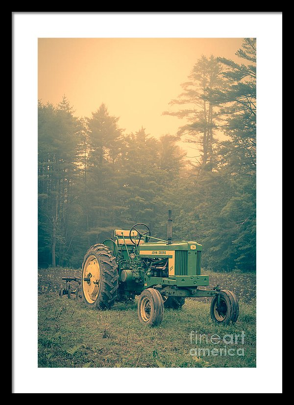 Early Morning Tractor  in the Fog https://edward-fielding.pixels.com/featured/early-morning-tractor-in-farm-field-edward-fielding.html