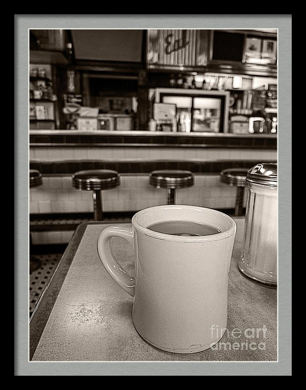 Diner photograph by Edward M. Fielding