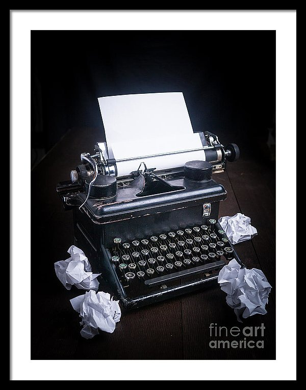 Vintage Typewriter photograph by Edward M. Fielding