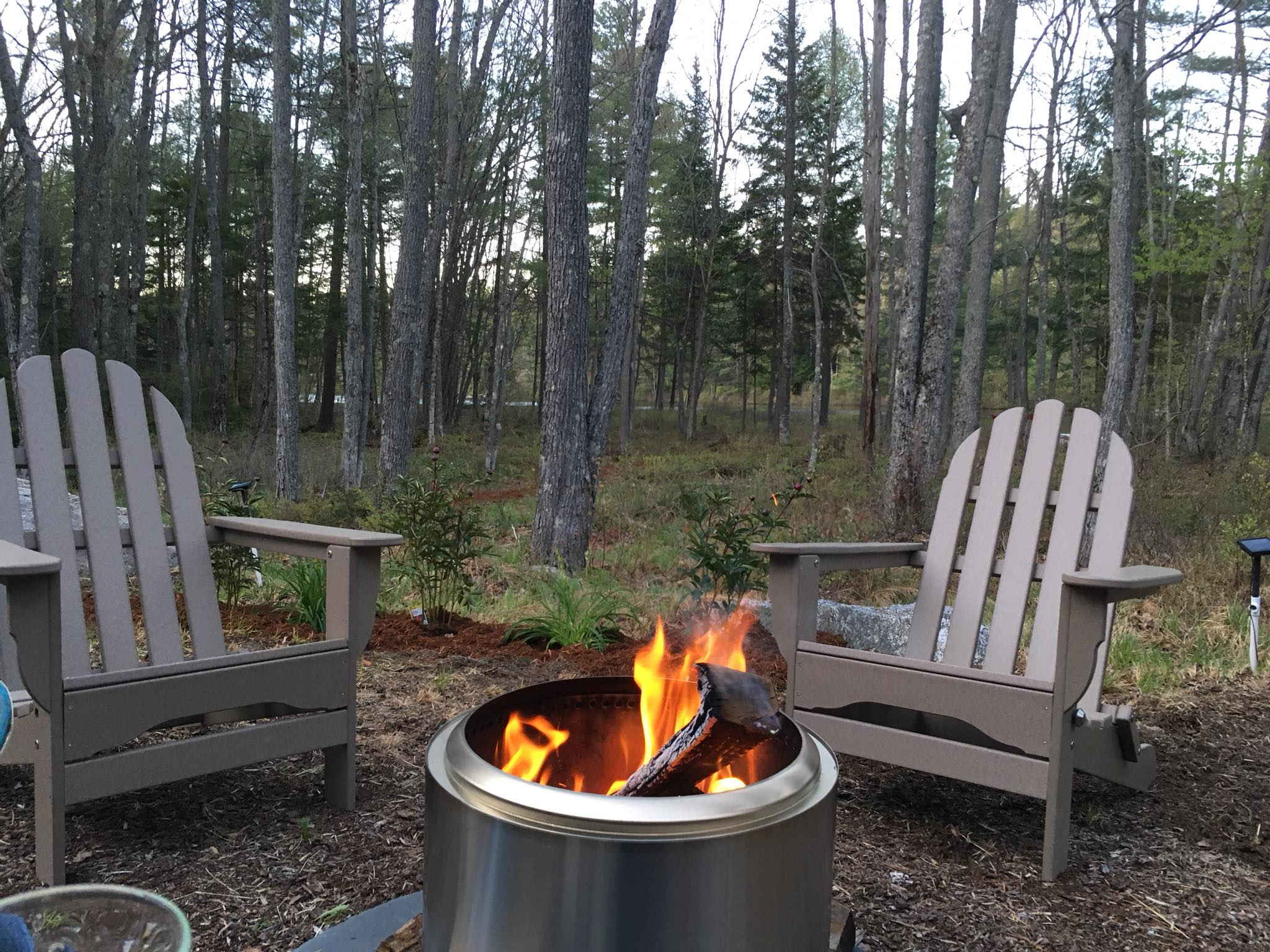 Amazingly great fire pit for the backyard! Solo Stove ...